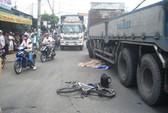 Xe tải tông liên hoàn, một tử vong, bốn nguy kịch