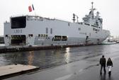 """Pháp """"khó lòng"""" bàn giao tàu chiến Mistral cho Nga"""
