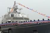 Hạ thủy 1 tàu chiến Mỹ tham gia làm nhiệm vụ ở biển Đông