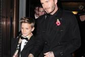 """Con trai David Beckham """"vượt mặt"""" cha"""