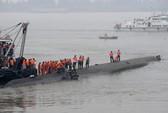 Tàu chìm ở Trung Quốc, hơn 400 người mất tích