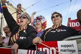 Hôn nhân đồng tính gây chia rẽ nước Mỹ