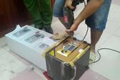 Cần Thơ: Phát hiện hơn 700 gram ma túy giấu trong két sắt