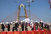 Hợp long tầng 2 dự án cầu vượt lớn nhất miền Trung