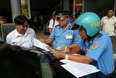 Lần thứ ba ra quân xử phạt taxi Uber