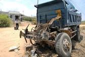 Thiếu quan sát, tài xế xe tải bị tàu lửa tông chết