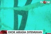 Tìm thấy đuôi máy bay AirAsia QZ8501