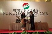 Nhà thiết kế Minh Hạnh nhận giải thưởng Fukuoka vì nghệ thuật