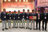 Việt Nam xếp sau Triều Tiên trong Olympic Toán học quốc tế 2015