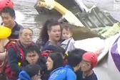 Vụ tai nạn máy bay Đài Loan: Cả gia đình sống sót nhờ đổi chỗ ngồi