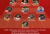 Sốc với đội hình tiêu biểu vòng loại Euro 2016