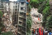 Trung Quốc: Nhà 9 tầng đổ sập, 21 người mất tích