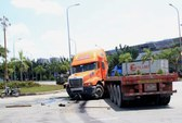 Xe container gây tai nạn liên hoàn, 3 người bị thương nặng