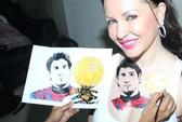 Mê Messi, nữ diễn viên xăm hình lên ngực