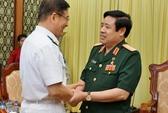Đại tướng Phùng Quang Thanh tiếp đoàn Bộ Quốc phòng Trung Quốc