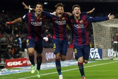 Hạ Atletico 3-1, Barcelona trở lại đường đua