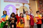 Việt Nam có thêm nhà vô địch cờ thế giới nhỏ tuổi