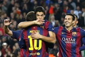 Barcelona vùi dập Levante bằng hat-trick của Messi