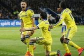 Ngược dòng hạ Leicester, Chelsea chạm tay đến ngôi vô địch Anh