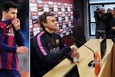 Mâu thuẫn Messi - HLV Enrique chực chờ bùng nổ