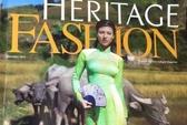 Thu hồi tạp chí Heritage vì in hình chùa Vàng trên áo dài