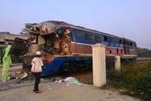 Tai nạn đường sắt tại Quảng Trị: Ô tô cố vượt bất chấp đèn đỏ
