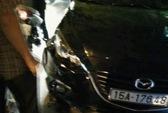 """""""Xe điên"""" Mazda 6 tông liên tiếp 8 người bị thương"""