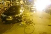 Hà Nội: Xế hộp tông người đàn ông đi xe đạp