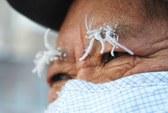 Trung Quốc: Lạnh tới mức lông mày đóng băng