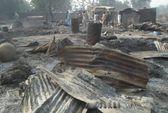 Boko Haram thiêu sống trẻ em ở Nigeria