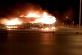Trung Quốc: Xe buýt bị đốt trơ khung, 17 người chết