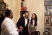 Con gái Tổng thống Obama trổ tài phiên dịch ở Cuba