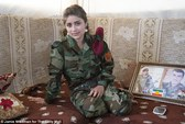 Những nữ chiến binh chống IS: Chết vẫn phải xinh đẹp