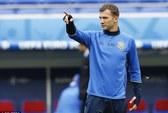Shevchenko âu lo khi Ukraine đấu
