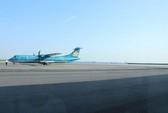 Sân bay Cát Bi lại bị lún nứt
