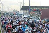 TP HCM ngày càng ngột ngạt: Áp lực về giao thông