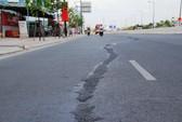 Xuất hiện vết trám ở đường Phạm Văn Đồng