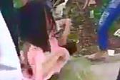 Công an điều tra clip nữ sinh bị xé áo, đánh hội đồng