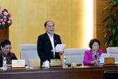 Chủ tịch Quốc hội: Xin lùi Luật Biểu tình là thiếu nghiêm túc