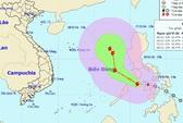 Xuất hiện cơn bão mới ngày càng mạnh gần biển Đông