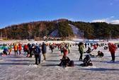 Kỳ thú lễ hội câu cá bingeo trên băng
