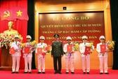 Nhiều sĩ quan Công an được thăng hàm cấp Tướng