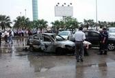 """Cháy """"xế hộp"""" tại sân bay Nội Bài, 1 người tử vong"""