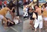4 phụ nữ đánh ghen kinh hoàng cô gái 19 tuổi