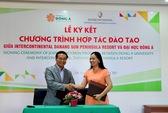 ĐH Đông Á ký hợp tác với InterContinental Đà Nẵng