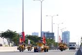 """Cận cảnh """"Phố Đông"""" Sài Gòn sáng 2-9"""