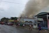 Đang cháy lớn tại quán karaoke Cosy ở Mỹ Tho