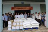 Trao 100 tấn gạo cho Trung tâm Điều dưỡng Tâm thần Tân Định