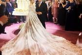 Ái nữ tỉ phú diện váy cưới nạm ngọc giá 14 tỉ đồng