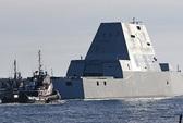 Tàu khu trục xịn của Mỹ chết máy giữa kênh Panama